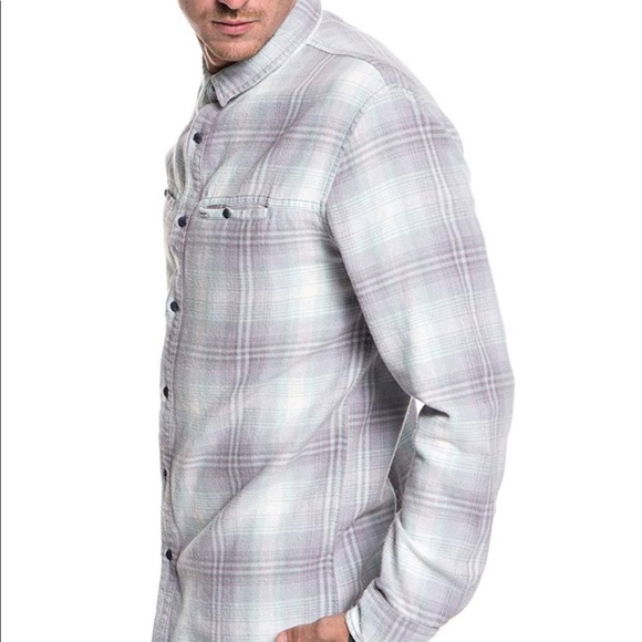 Quiksilver Mens Fitzspeere Button Down Shirt